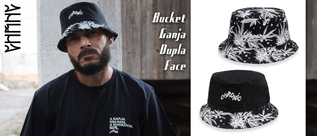 Bucket Cannabis Dupla Face Chronic